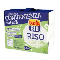RICE NATURAL BAULETTO ISOLA BIO 1X6