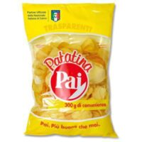 PATATINE CHIPS TRASPARENTI PAI GR200