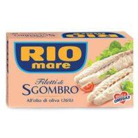 FILETTI SGOMBRO RIO MARE GR.125
