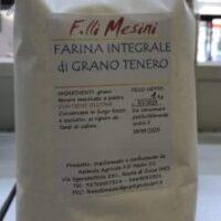 Farina Integrale F.lli Mesini   Macinata a Pietra
