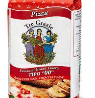 Farina Pizza 00 Tre Grazie kg.1